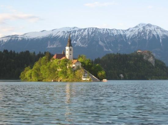 Bled Island: beautiful