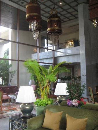 Mandarin Oriental, Bangkok: The lobby of The Oriental hotel..one of the best hotels in the world (always makes like the #1 s