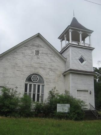 One of Oliver's many churches