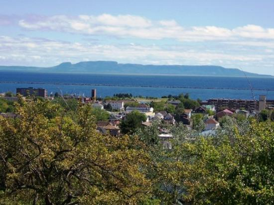 Sleeping Giant As It S Known In Thunder Bay Is A Natural
