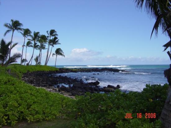 Poipu Beach Park: July 16, 2006 Po'ipu Beach Park South Shore Kauai