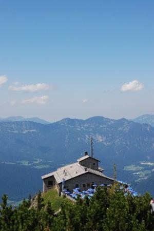 Konigsee, เยอรมนี: Eagle nest.