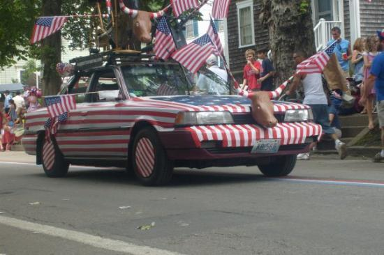 Hope Street: Awesome patriotic car