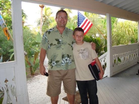 Big Pine Key, ฟลอริด้า: Jeff and Nick ready to go