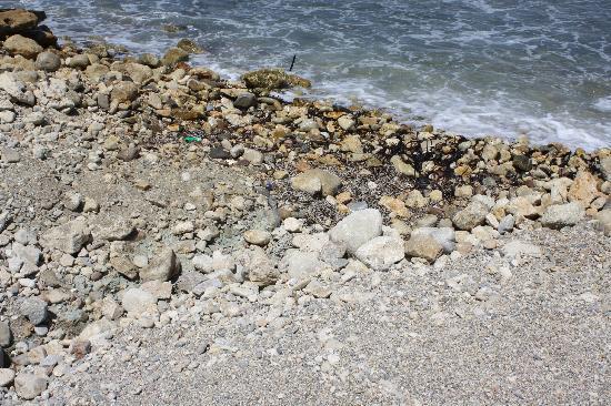 Skaleta, Yunani: La plage de sable fin...