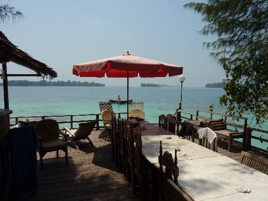 Pulau Macan Tiger Islands Village & Eco Resort: The Restaurant