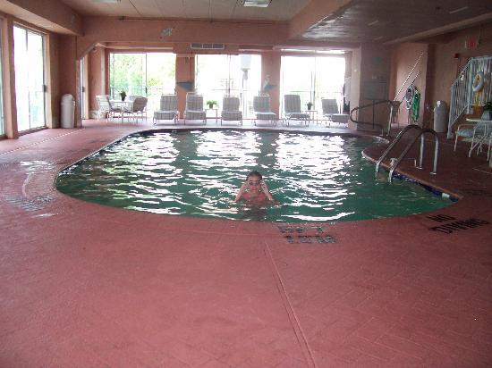 Comfort Inn Boardwalk: Indoor Pool