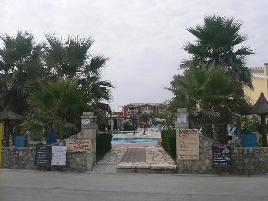 Orestis Apartments took from the beach