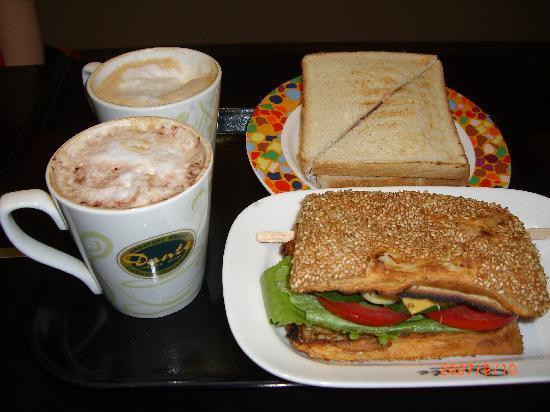 Unite Hotel: 2日目のホテルの朝食です。