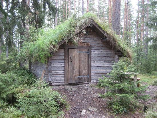 Skinnskatteberg, Sverige: Log cabin