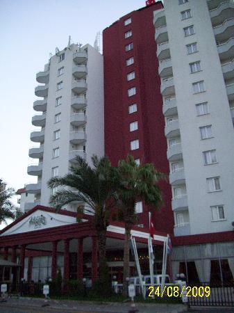Antalya Adonis Hotel : Entrada