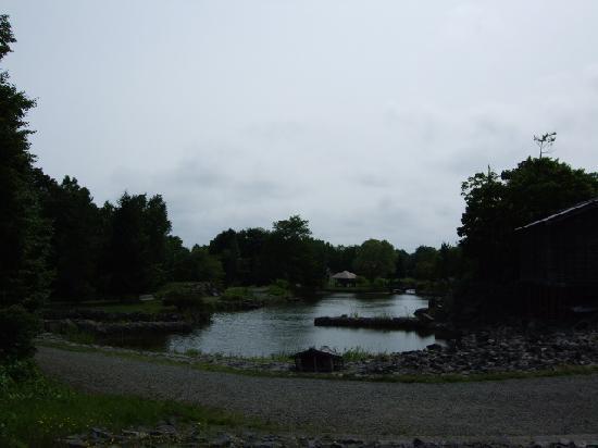 北海道開拓の村, 大きな池もある。