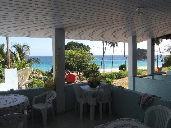 Joab's House: La veranda e la vista dalla casa di Joab