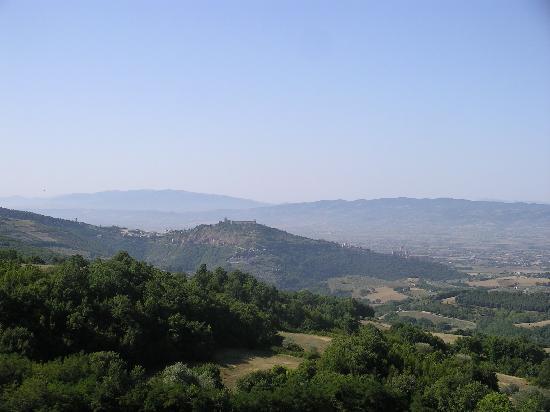 Alla Madonna del Piatto: vista dalla terrazza