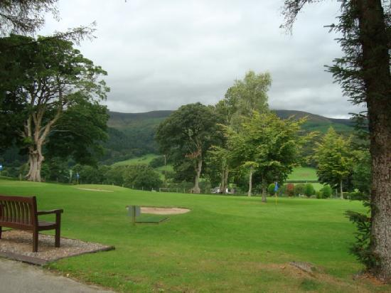 Plas Talgarth Holiday Resort: View from the bungalow