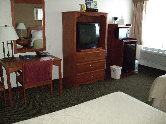 BEST WESTERN Town & Country Lodge: Bedroom Best Western Tulare