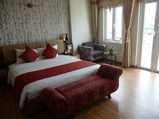 Hanoi Elegance Ruby: Room on arrival