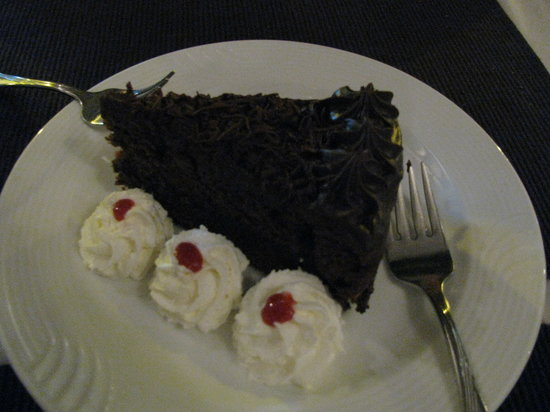Michel's : chocolate cake!