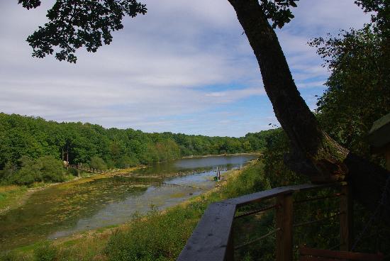 Champrond-en-Gatine, France: Vue de notre terasse