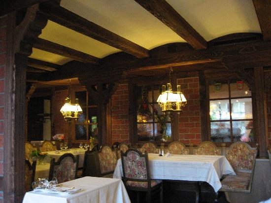 Pilatus Hotel: El comedor