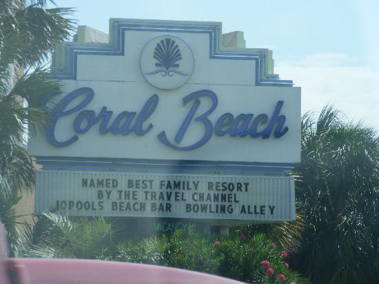 Coral Beach Resort & Suites: We made it!