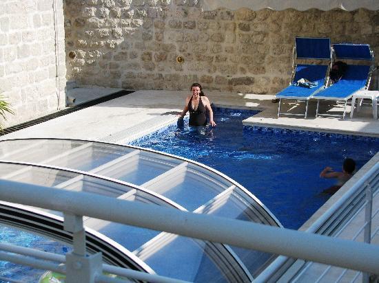 Palazzo Radomiri Hotel: The pool
