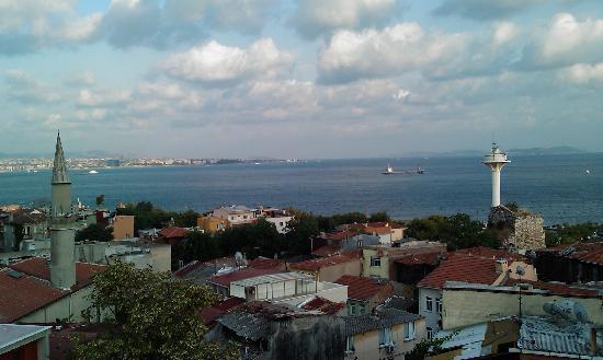 Emine Sultan Hotel : View from breakfast