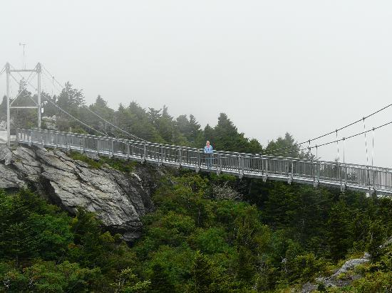 Rodeway Inn & Suites near Outlet Mall - Asheville : Grandfather Mtn. Mile High Swinging Bridge