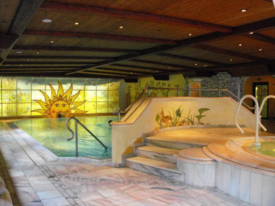 Alpendomizil Neuhaus: Lovely pool and jacuzzi area
