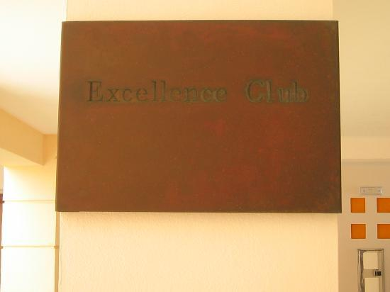 Excellence Playa Mujeres: I stayed in an Excellence Club room