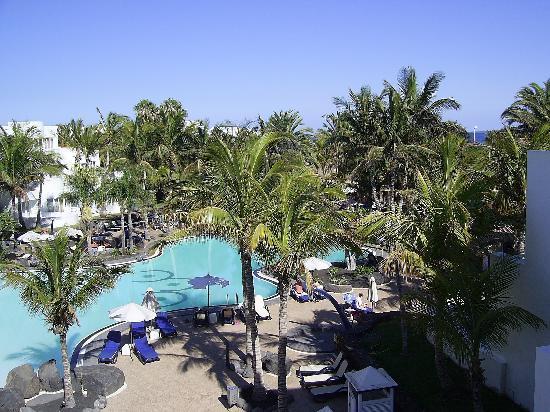 Hipotels La Geria: piscina de dia