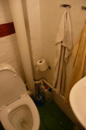 Morten Fredricksen Guesthouse: Bathroom (shared with shop next door)