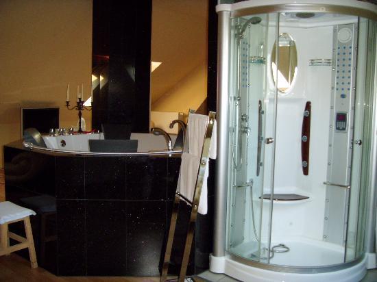 Landhotel Bannewitz (Hotel): dampfdusche