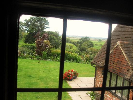 Cleavers Lyng: view from our room