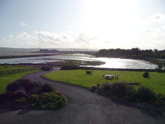 Dungarvan, Irland: View from room