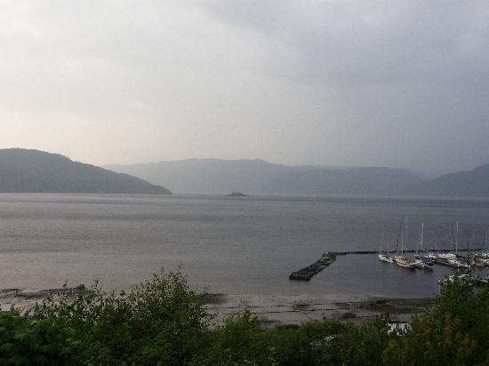 Chalets sur le Fjord : vue du condo