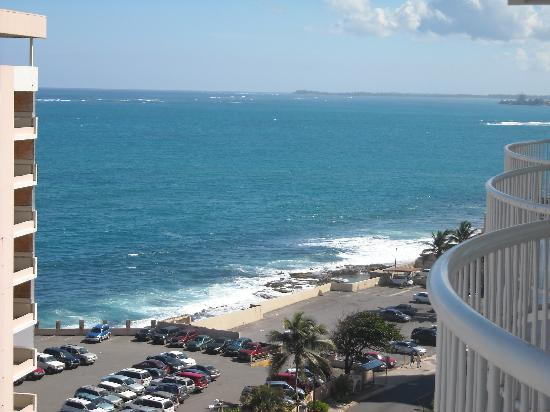 The Condado Plaza Hilton: View from our hotel room