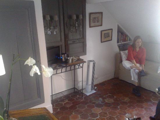Les Toits de Paris : The bedroom