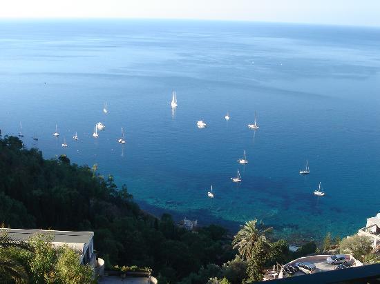 Hotel Villa Schuler: Blick aufs Meer