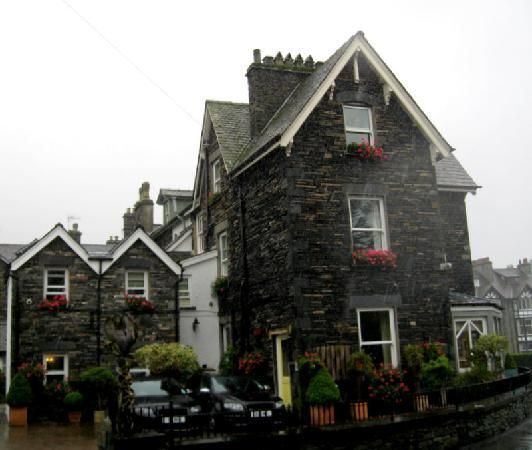 Easedale Lodge: A very rainy day!!!