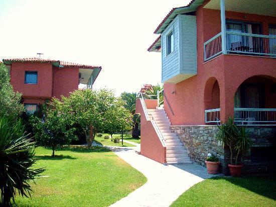 Hanioti Village Resort: Hotel grounds
