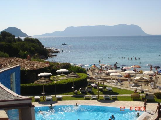 Hotel Resort & SPA Baia Caddinas: vista da terrazino stanza