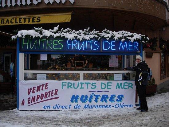 Residenz Maeva Chamois Le Chamois Blanc: pescheria