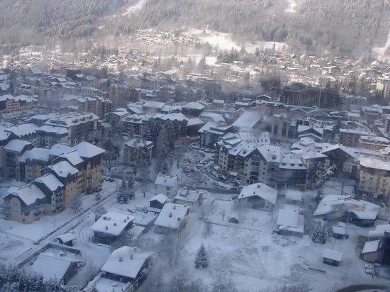 Maeva Residence Le Chamois Blanc: Funivia Monte Bianco