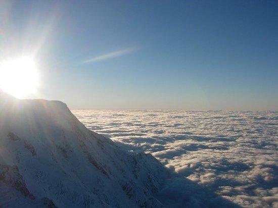 Maeva Residence Le Chamois Blanc: Vista Monte Bianco