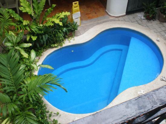 Koox Hotel Banana: la petite piscine, mais bon à quoi ça sert ? on a la mer à quelques minutes...