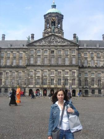 Royal Palace Amsterdam: The next few photos are of Dam Square, Amsterdam's main historical center.  It was the first maj