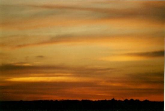 Outback Sunset: Coober Pedy
