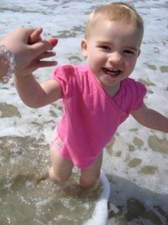 Dana Point, Kalifornia: Katrina pa beachen !