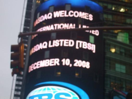 Big Apple Greeter: times square my 21st december 10th woohw!